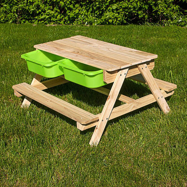 Sunny Dual Top Table Zand & Water Picknicktafel