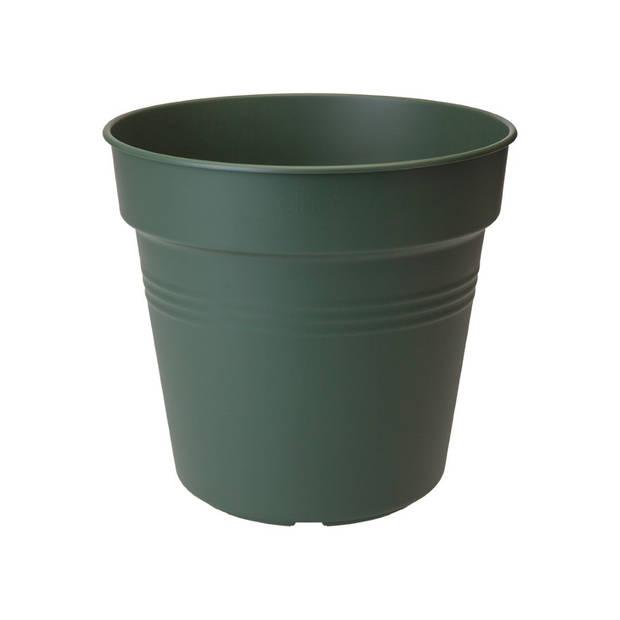 5 stuks Bloempot Green basics kweekpot 11cm blad groen elho