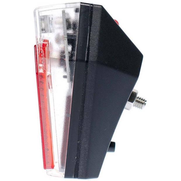 Simson achterlicht Mini batterij spatbord rood