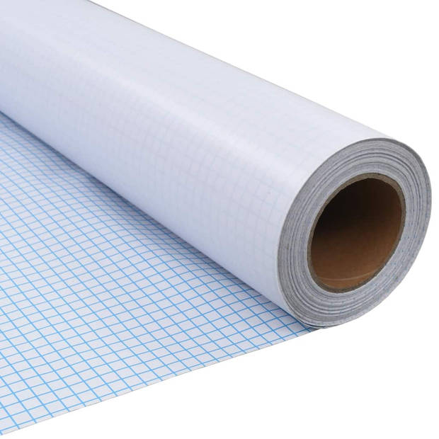 vidaXL Privacyfolie mat melkglas zelfklevend 0,9x10 m