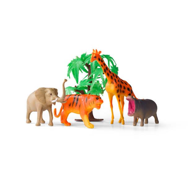 Blokker speelkleed dierentuin met accessoires