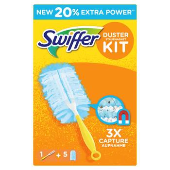 Blokker-Swiffer Duster Kit ITB (1 Handvat + 5 Navullingen)-aanbieding