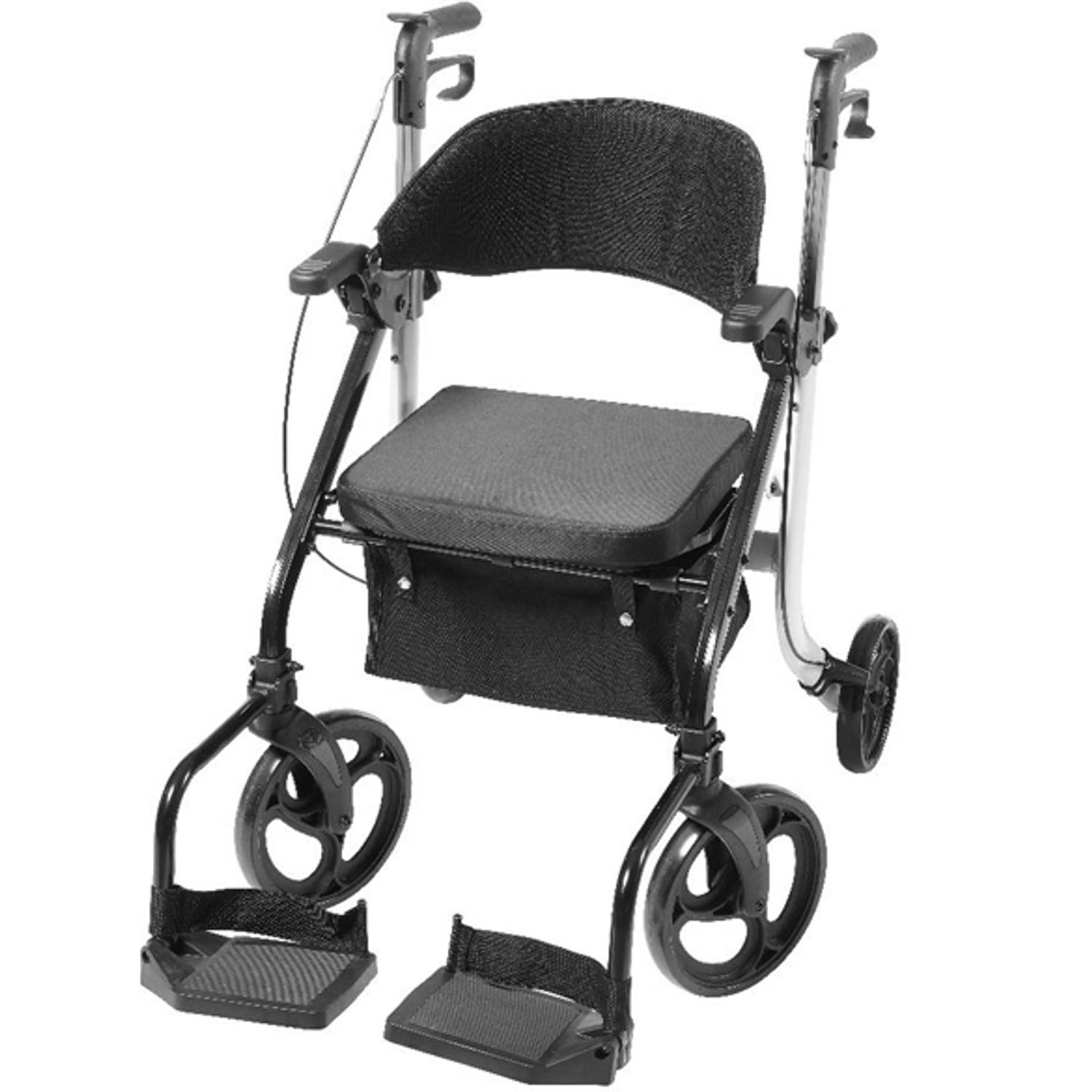 Image of Vitility 2-in-1 Rollator