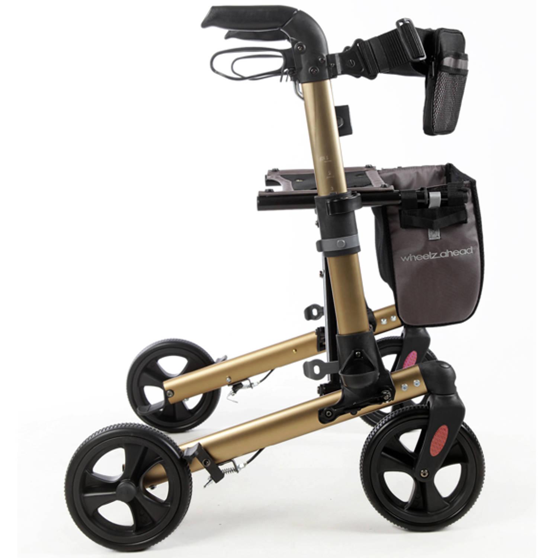 Afbeelding van 2Mobility Rollator TRACK WheelzAhead - Champagne