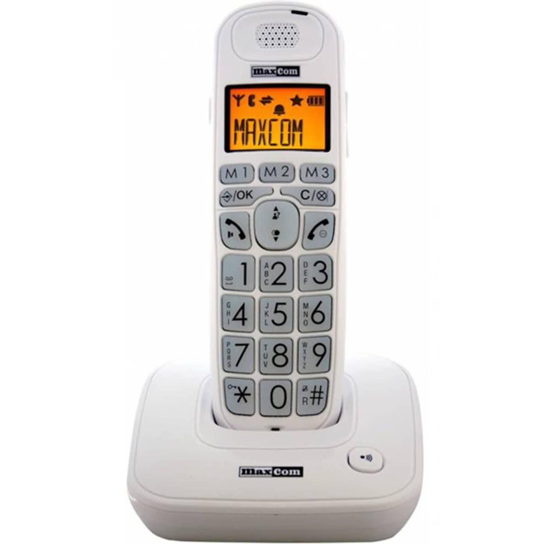 Slechtziend Maxcom MC 6800 DECT - Wit
