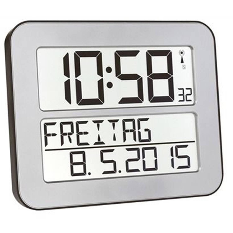Radiografische kalenderklok TF2000 Zilver Timeline Maxx