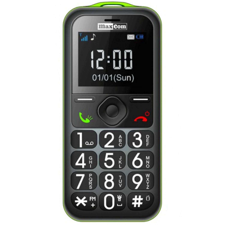 Slechtziend Maxcom MM 560 GSM - Groen
