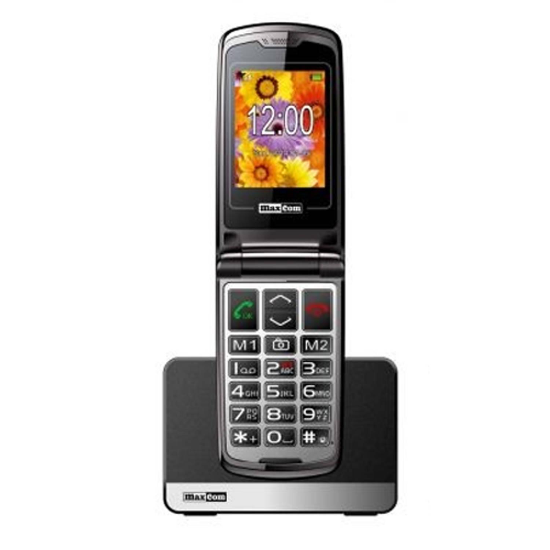 Slechtziend Maxcom MM 822 BB klaptelefoon - Wit