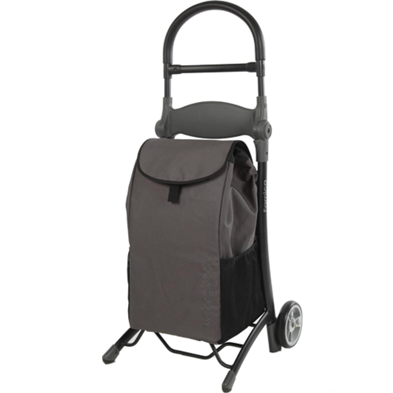 Afbeelding van 2Mobility Relax & Go shopping trolley met zitje Boodschappenwagen