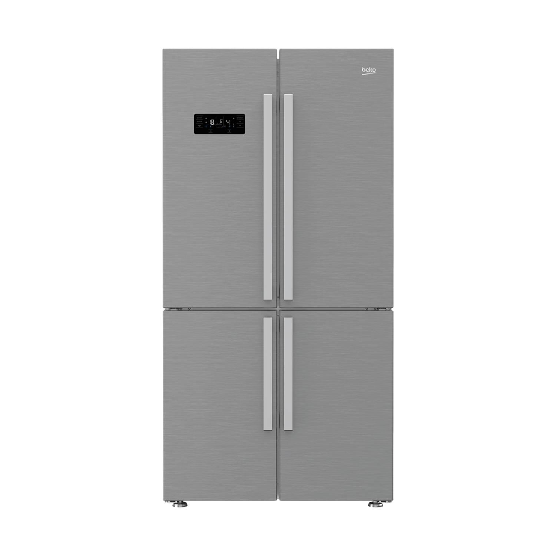 Beko GN1416221ZX amerikaanse koelkasten - Roestvrijstaal