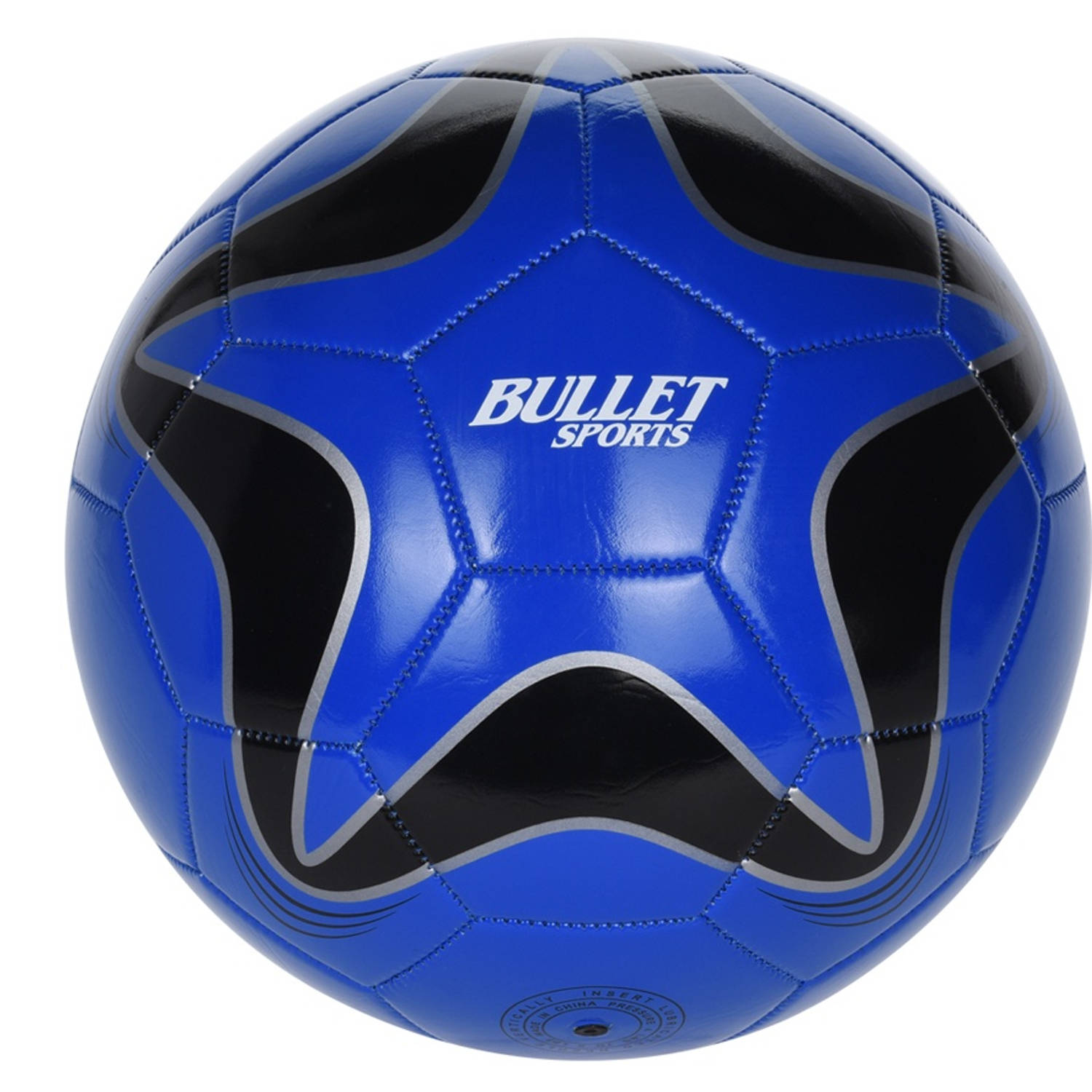 Free and Easy Bullet Sports voetbal maat 5 blauw