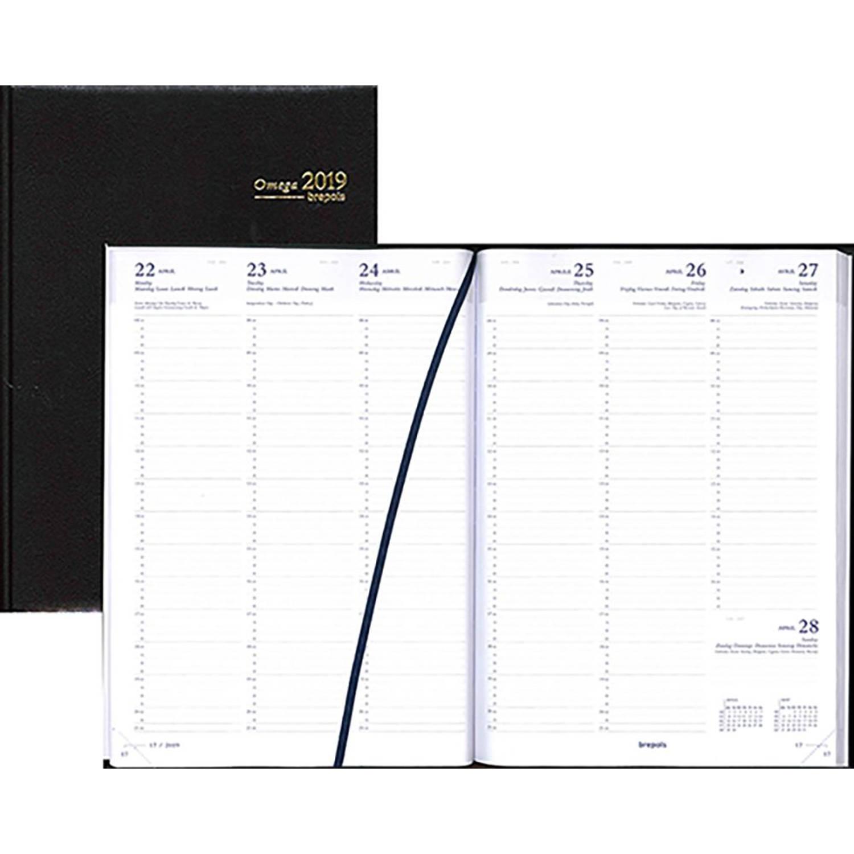 Agenda 2019 Brepols A4 Zwart kopen