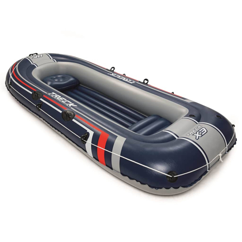 Bestway Hydro-Force Opblaasbare boot blauw 61066