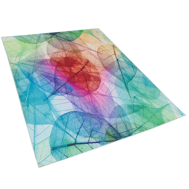 Beliani Antakya Vloerkleed Polyester 160 X 230 Cm