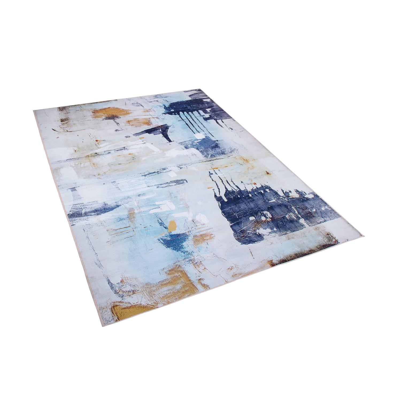 Beliani Adapazari Tapijt Meerkleurig Stof 140 x 200 cm