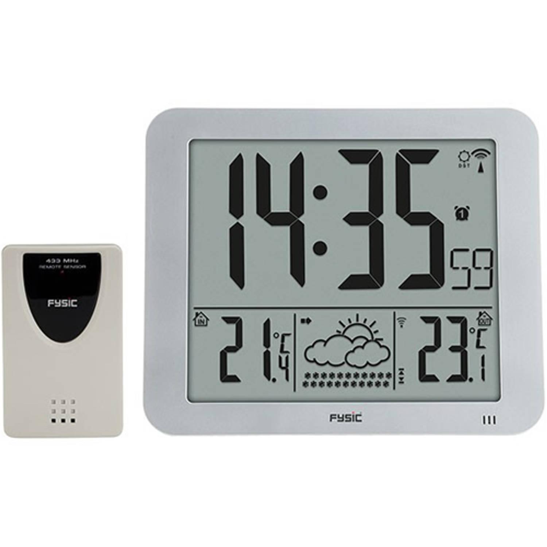 Digitale klok met weerstation XL Fysic FKW-2500