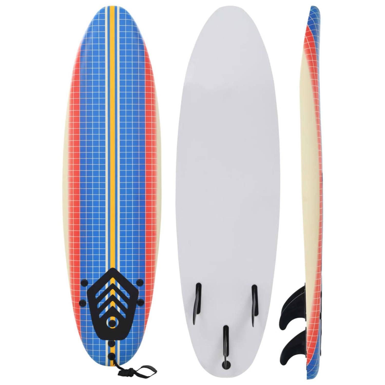 vidaXL Surfboard 170 cm mozaïek