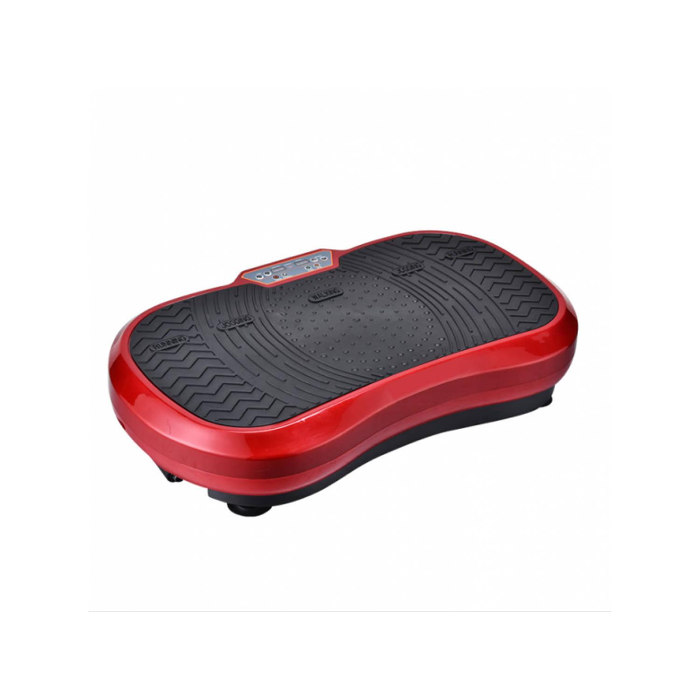 Merkloos Fitness Body Vibro Power Max Fitness Trilplaat Met Handvaten - Rood