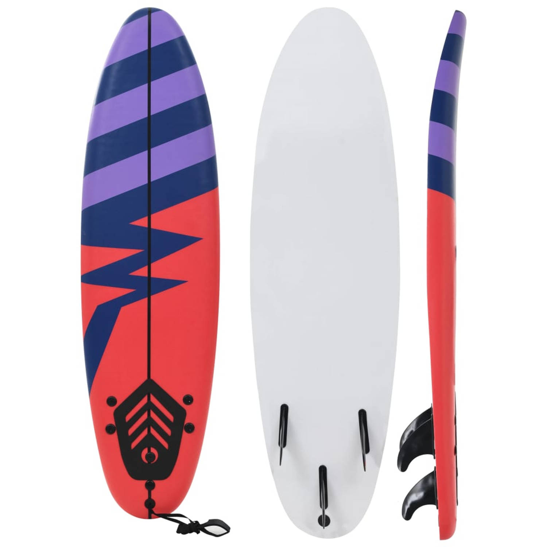vidaXL Surfboard 170 cm streep