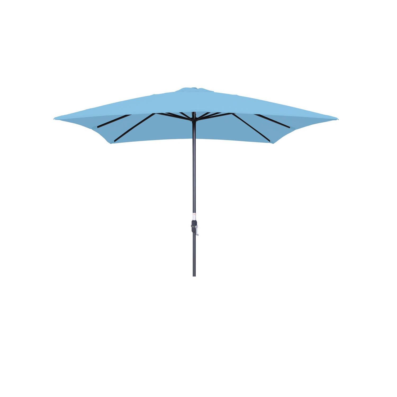 Garden Impressions - Lotus Parasol - 250x250 - Licht Blauw