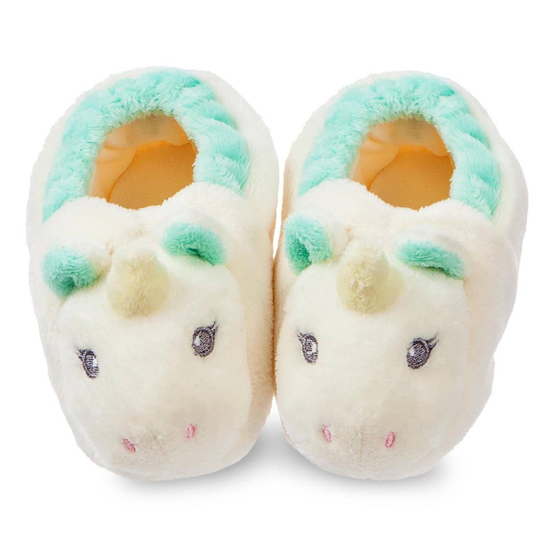 Afbeelding van Aurora Eenhoornsloffen baby in cadeauverpakking