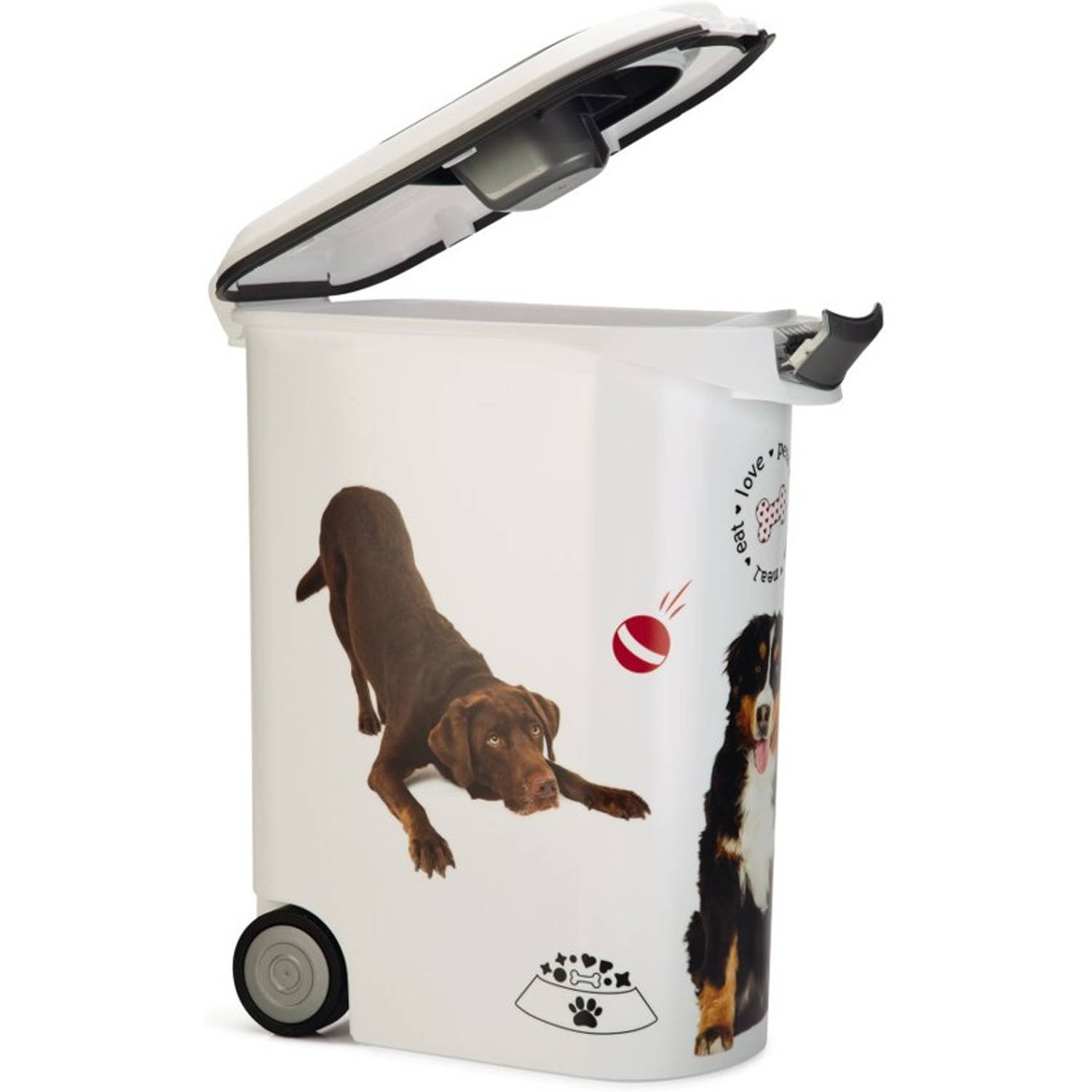 Curver voedselcontainer hond - 54 liter