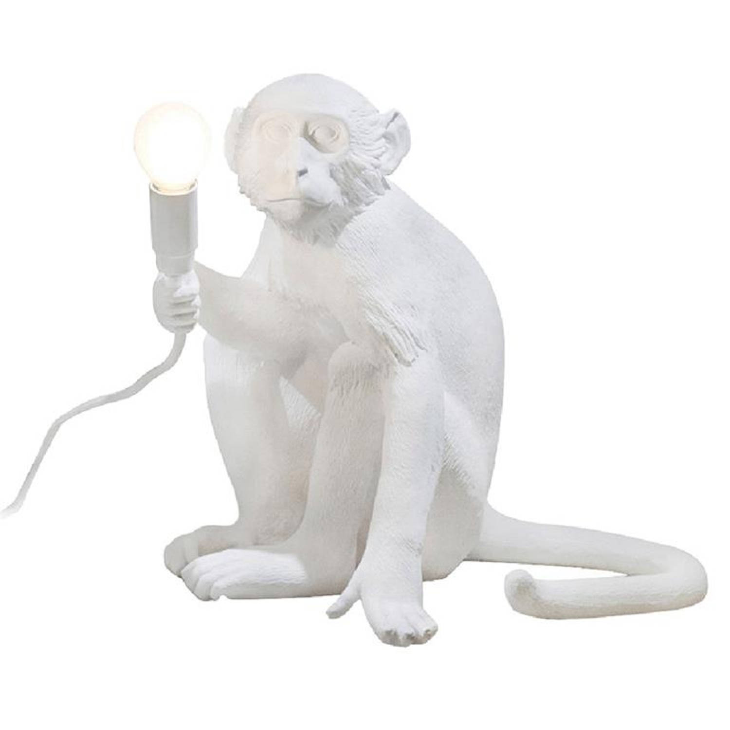 Seletti Monkey Lampresin Sitting