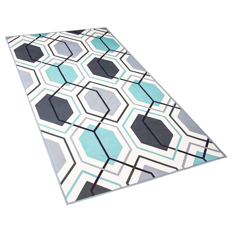 Korting Beliani Giresun Vloerkleed multicolor polyester