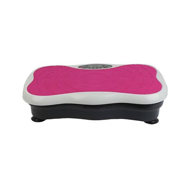 Fitness Body Vibro Pro Roze Fitness Trilplaat