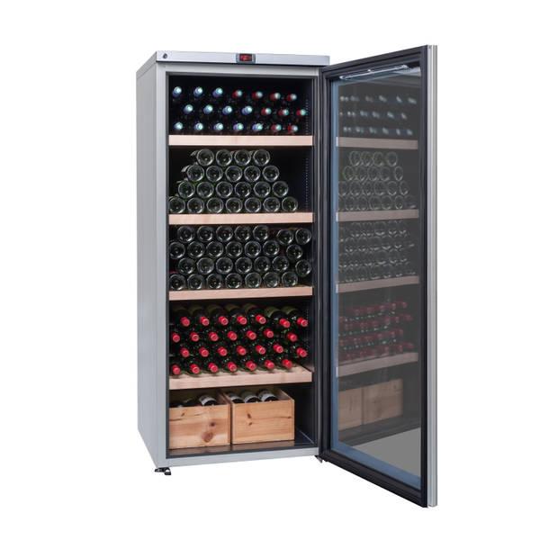 La Sommeliere Multizone (3) 265 flessen, 4 legplanken, Energieklasse A