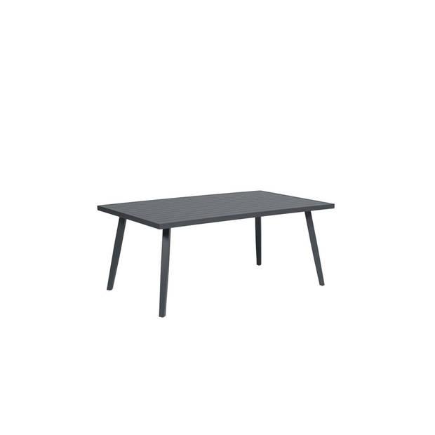 Garden Impressions - Indiana tafel -170x100xH72 - carbon black