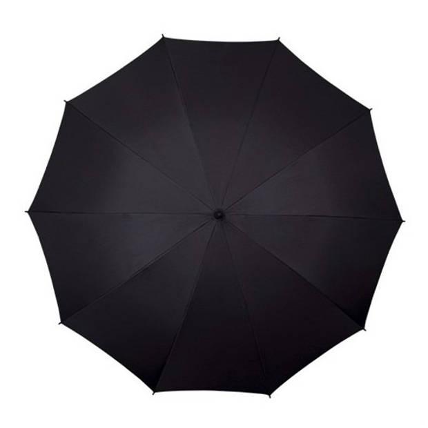 Golf stormparaplu zwart windproof 130 cm - Stormproof paraplu