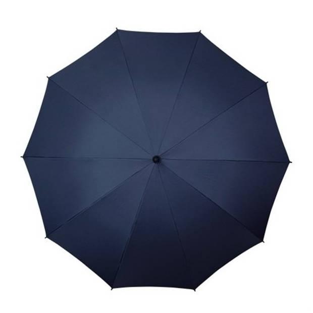 Golf stormparaplu donkerblauw windproof 130 cm