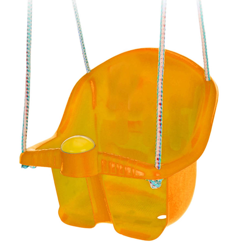 Tender Toys babyschommelzitje met touw 30 cm oranje