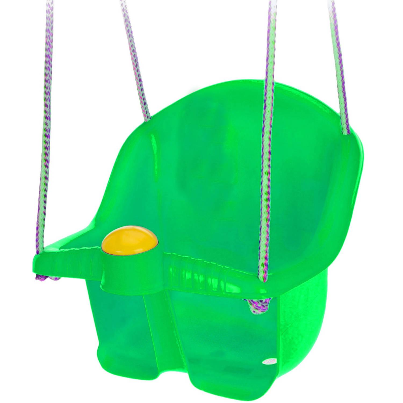 Tender Toys babyschommelzitje met touw 30 cm groen