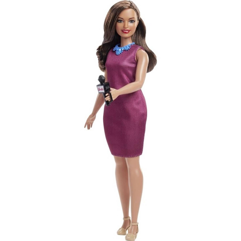 Barbie Careers 60e verjaardag: journalist 29 cm