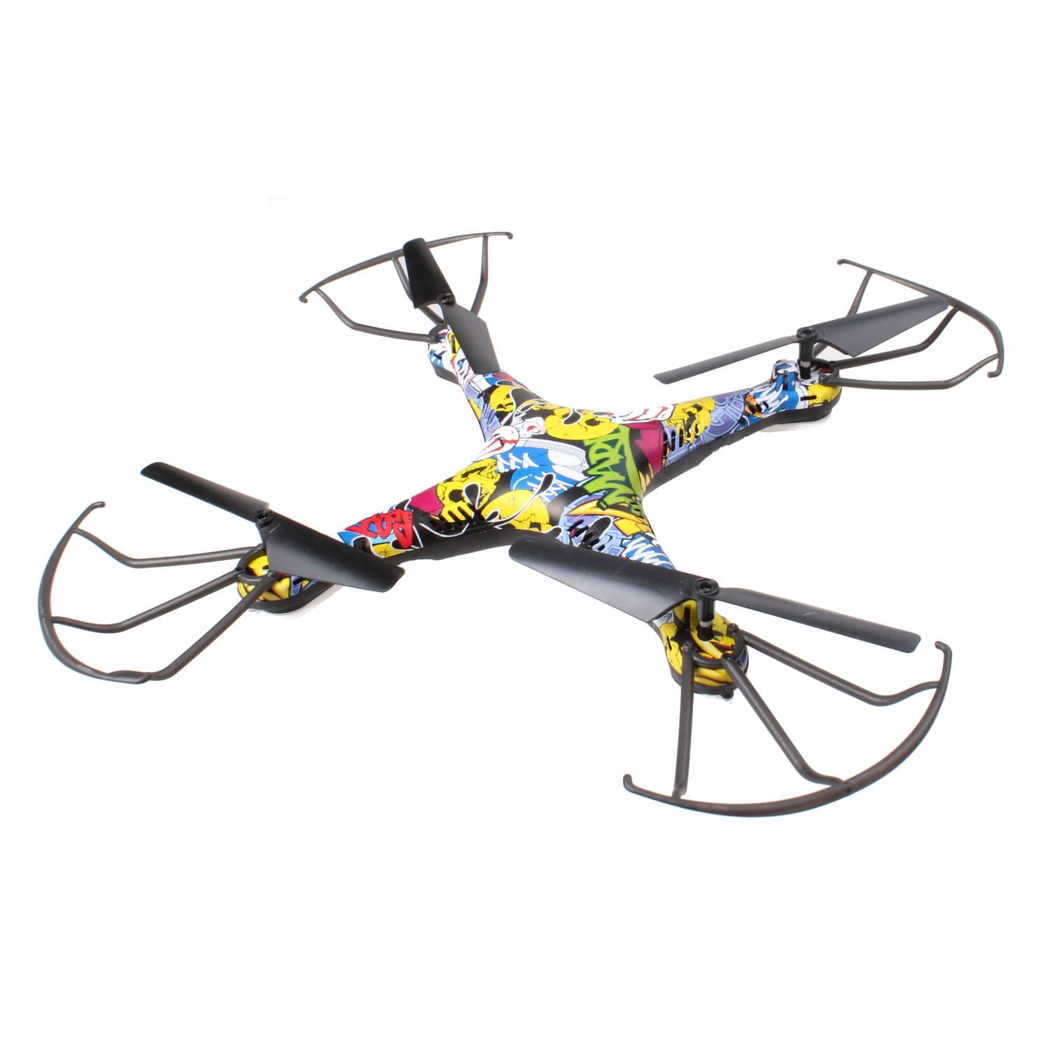 FPV drone met camera en wifi graffiti 28x28 cm
