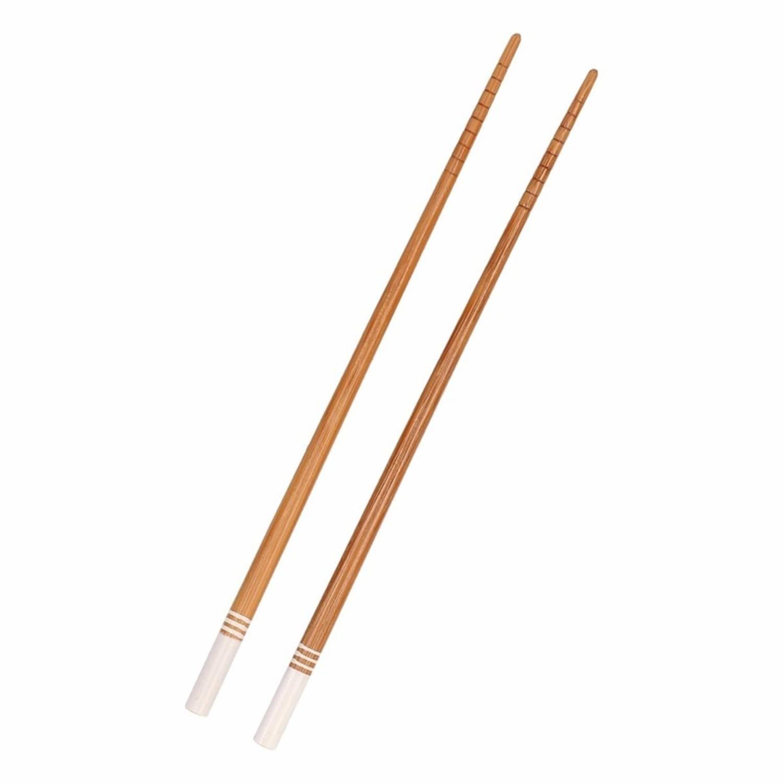 Korting Bamboe Eetstokjes Wit 2 Stuks