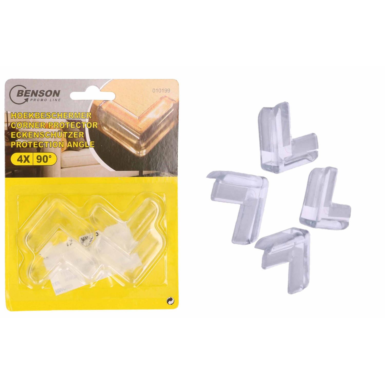 Korting Hoekbeschermer Voor De Baby 4x Stuks Voor Tafel Kasten