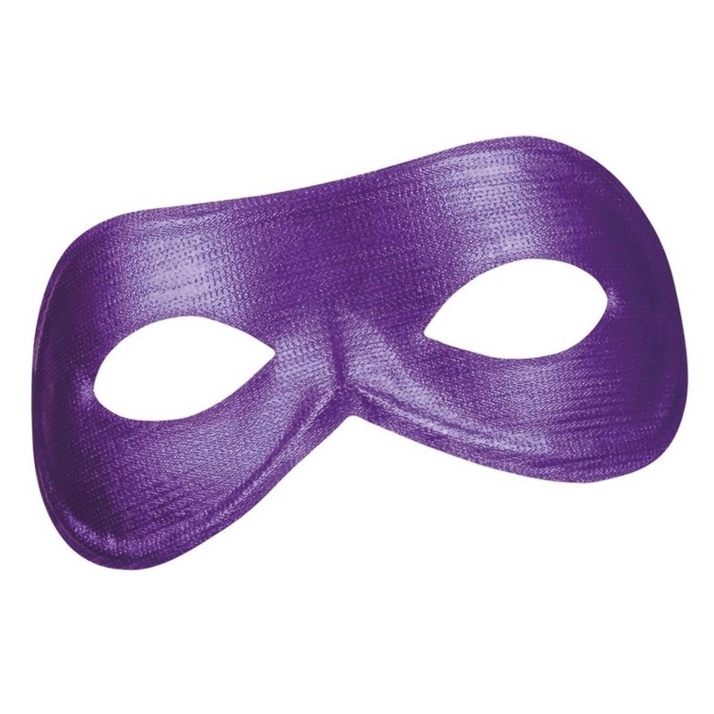 Korting Paars Metallic Oogmasker Voor Dames