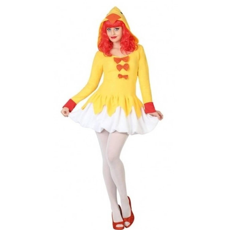 Carnavalskleding Xl Dames.Verkleed Kostuum Kip Kuiken Verkleedpak Jurk Voor Dames