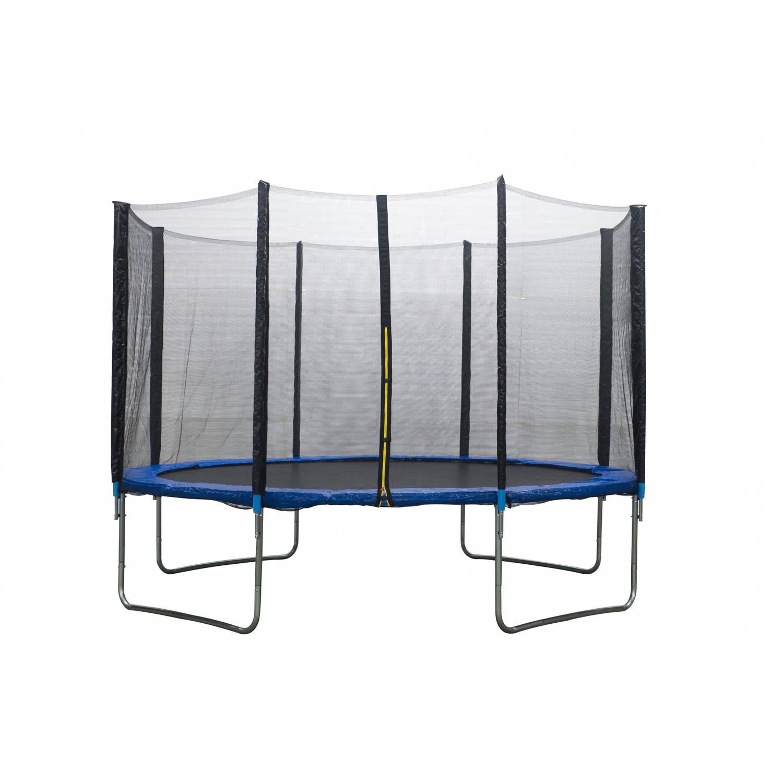 AMIGO trampoline met veiligheidsnet blauw 366 cm