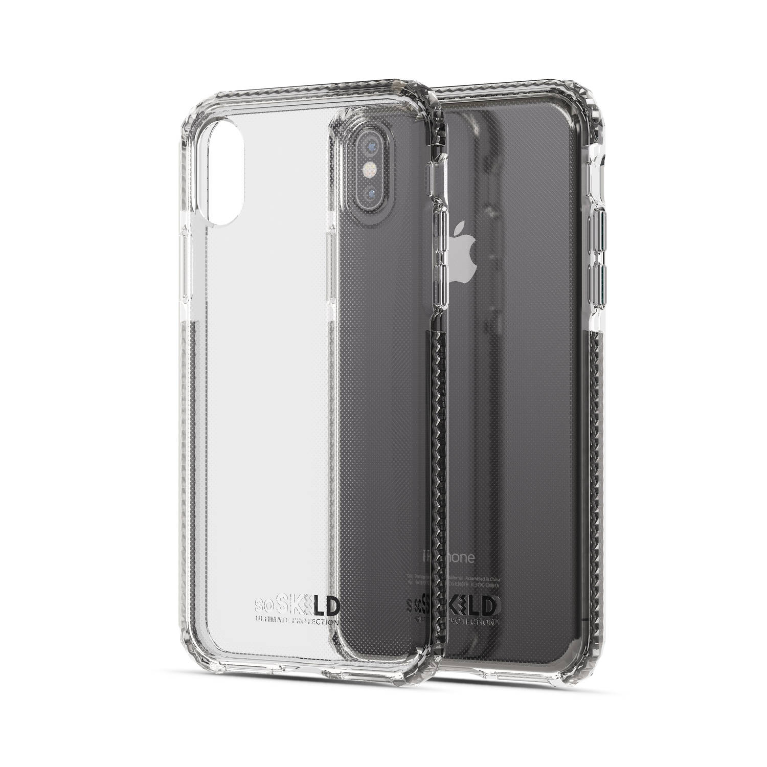 Korting Soskild Defend Back Case Transparant Voor Iphone X Xs