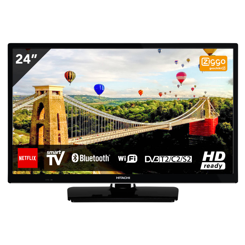 Hitachi 24HE2000 TV 24 inch (61 cm) ELED SMART TV met ingebouwde Wi-Fi HD-Ready