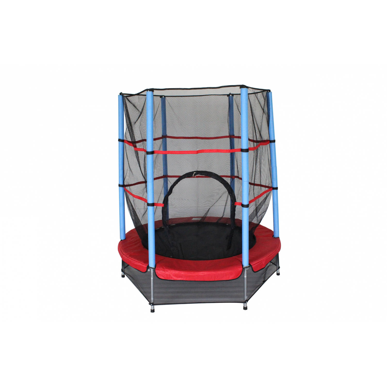 AMIGO trampoline met veiligheidsnet rood 139 cm