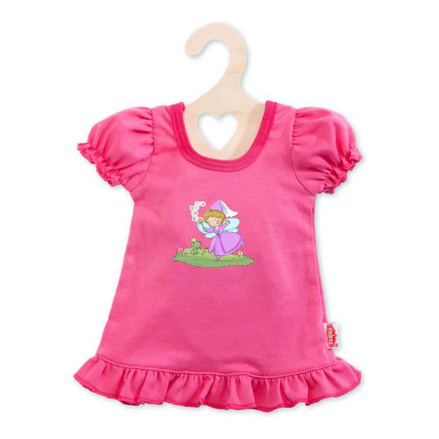 Heless poppenkleding nachtjapon roze 35-45 cm