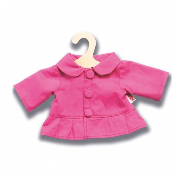 Heless poppenkleding jas roze 35-45 cm