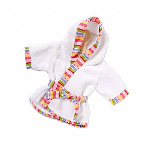 Heless poppenkleding badjas wit 35-45 cm