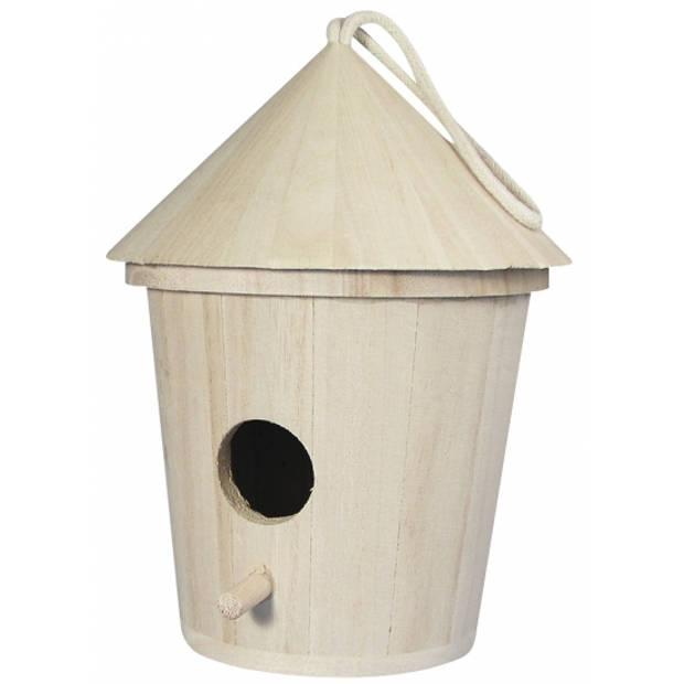 Houten vogelhuisje 16 cm - Vogelhuisjes