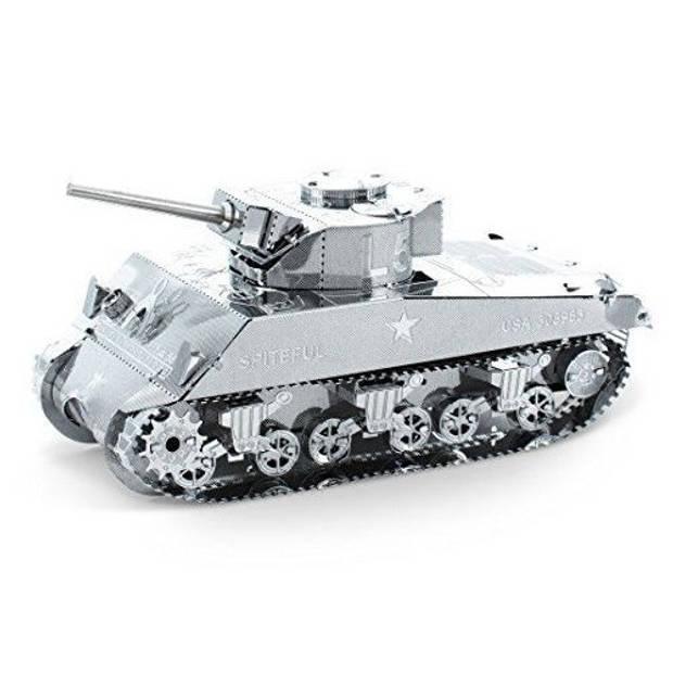 Metal Earth bouwpakket Sherman Tank